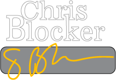 Chris Blocker logo
