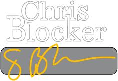 Chris Blocker logo